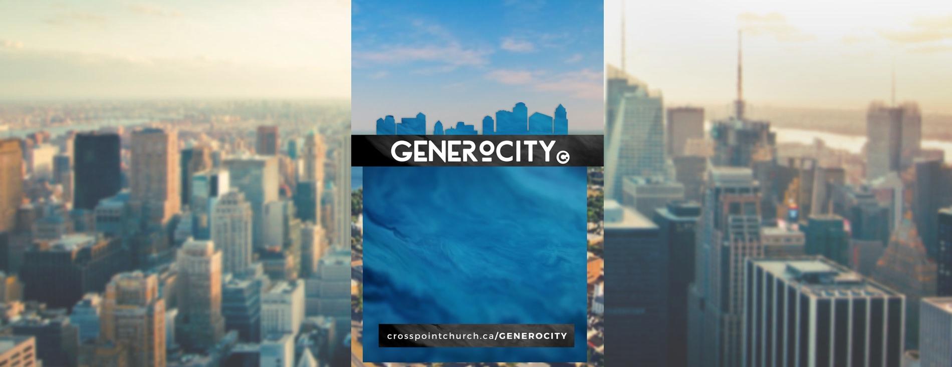 generoCITY – Aug/Sept campaign