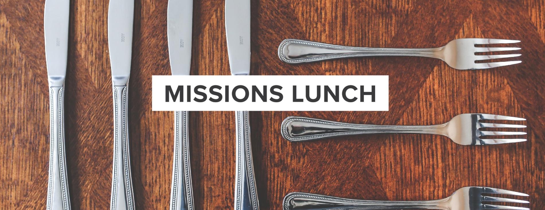 Missions Lunch & Dessert Auction